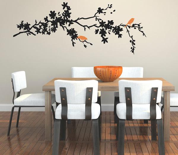 Sugerencias creativas para decorar nuestro hogar - Dibujos para decorar paredes ...