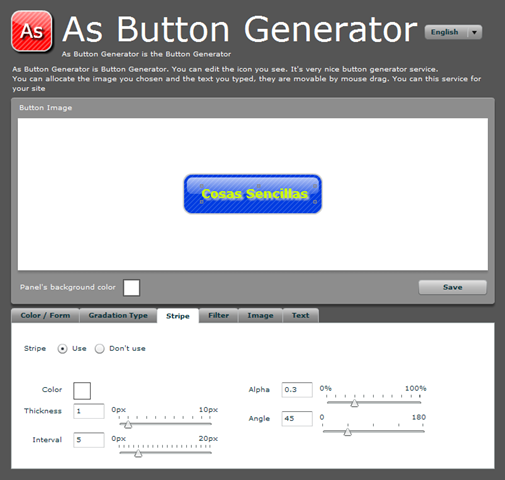 Html link button generator - Portfolio protection