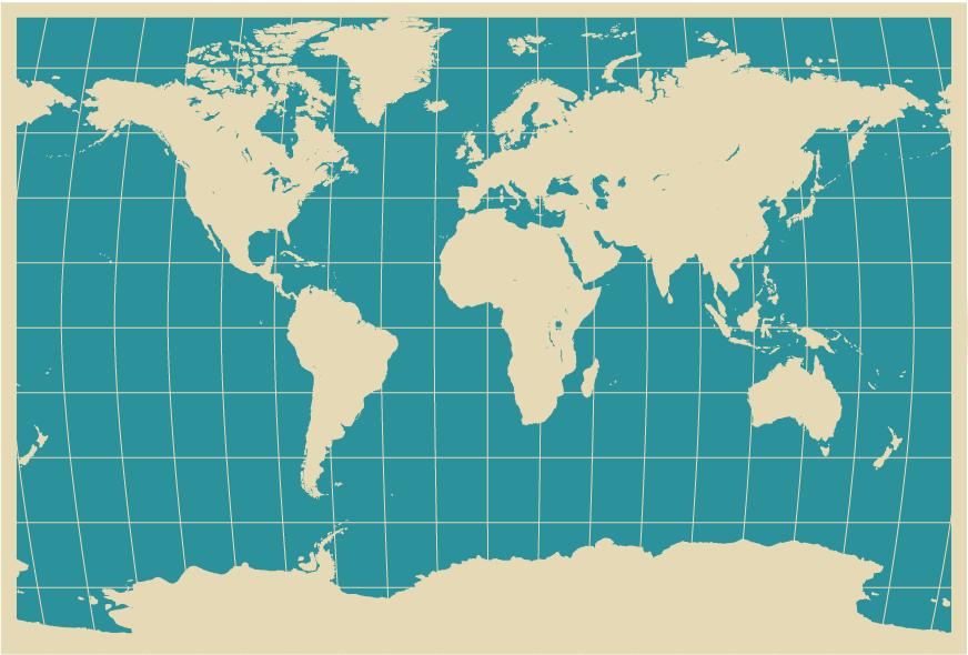 世界地図 世界地図 画像 ダウンロード : Free Vector World Map