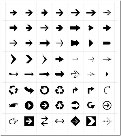 flechas-simbolos