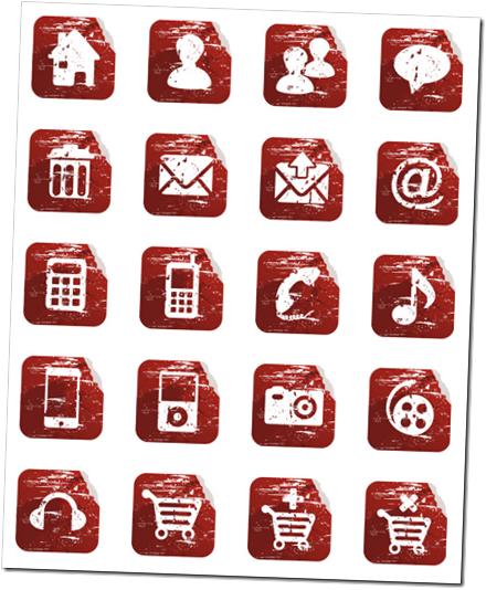 Distortion-iconos