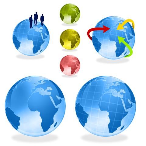 Ilustración del planeta Tierra