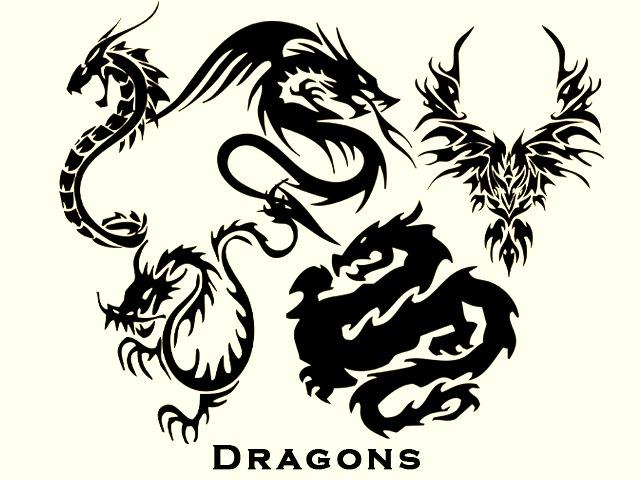 plantilla para tatuajes. plantillas tatuajes dragones - Ryan's Blog