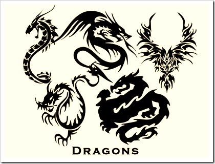 dragons-vectors