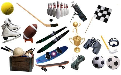 Ilustraciones de objetos deportivos  CosasSencillasCom