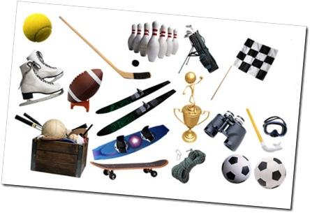 Ilustraciones de objetos deportivos cosassencillas com for Objetos para banarse