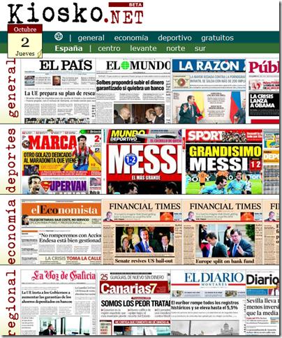 Kiosco de noticias