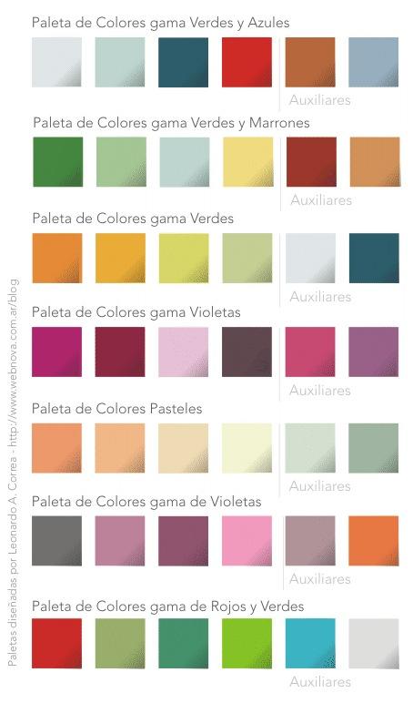 Paleta de colores - Paleta de colores bruguer ...