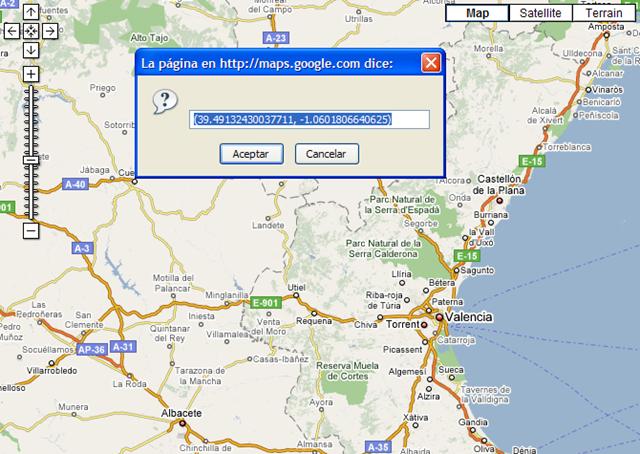 Luego cuando navegues por los mapas e imágenes de satélite de ...