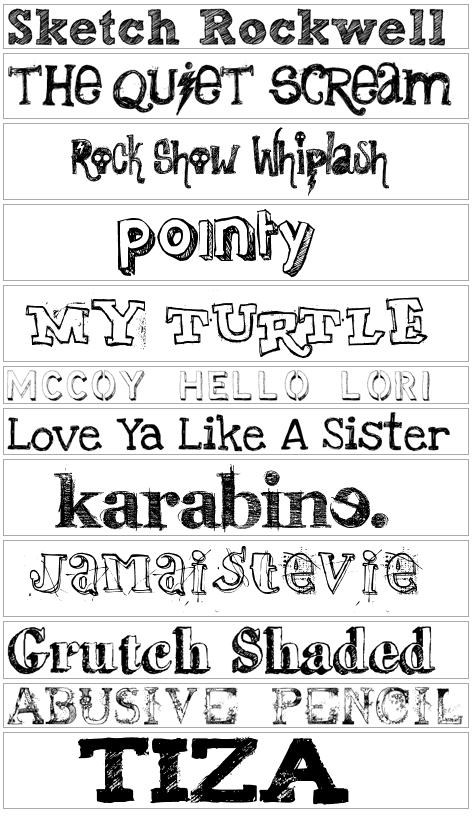 Formas de letras para dibujar imagui for Estilos de letras