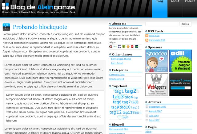 Recopilación de temas para WordPress (3) | CosasSencillas.Com