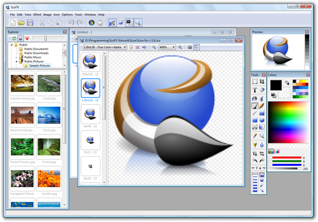 wp includes online icon creator software