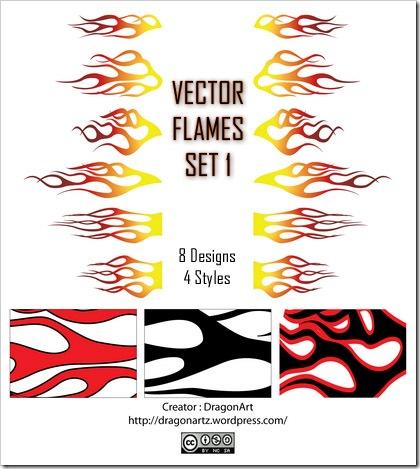 Dibujos vectorizados para nuestras carrocerias Vector-flames-set1-small-by-dragonart-thumb