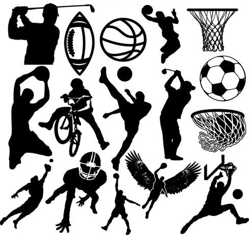hombres y deporte: