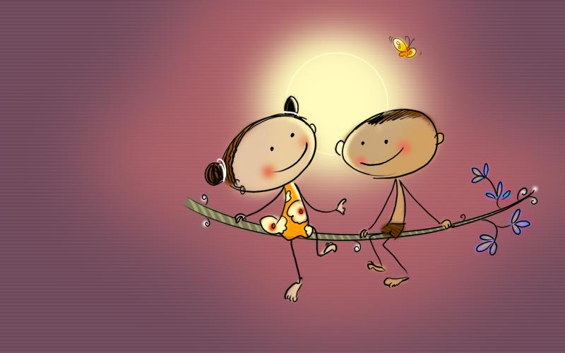 Kuttu y chinnu m s de 30 fondos de pantalla protectores for Protectores animados