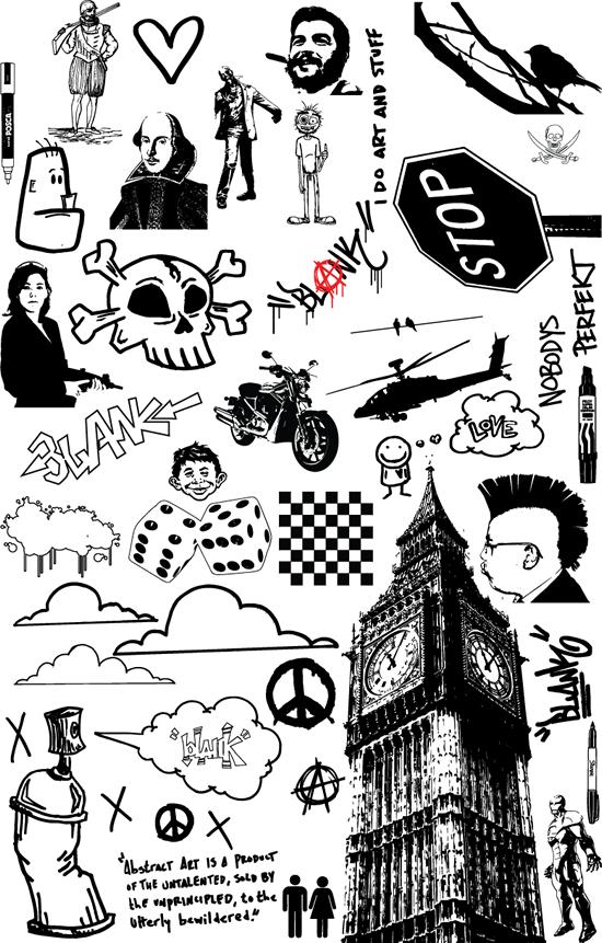Dibujos vectores - Imagui