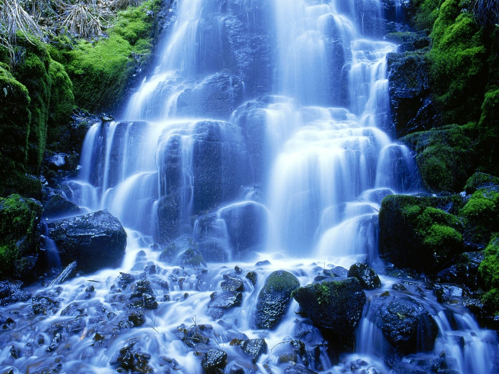 live waterfalls screensavers with sound