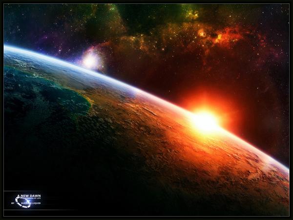 salida-sol-espacio