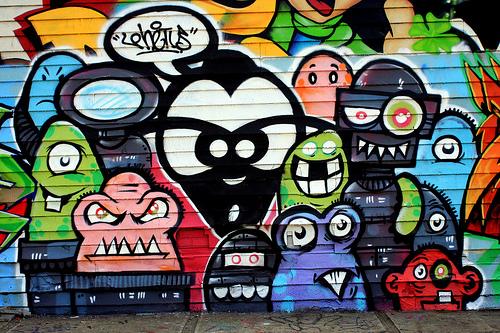 60 ejemplos se buenas creaciones de arte graffiti