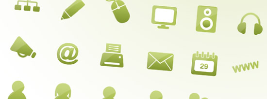 Go-Green-Web-Icon-Set