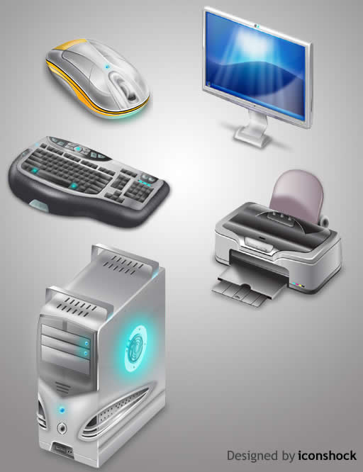Computer-Part-Icons