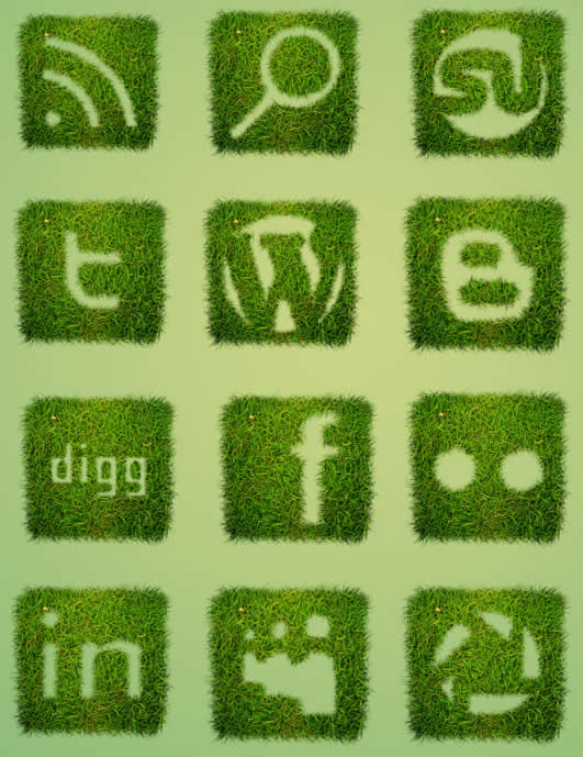 Grass-Textured-Social-Icon