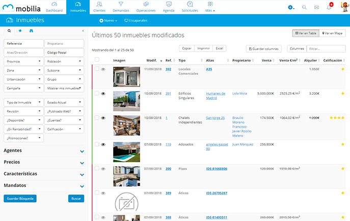 Mobilia - Software inmobiliario para España