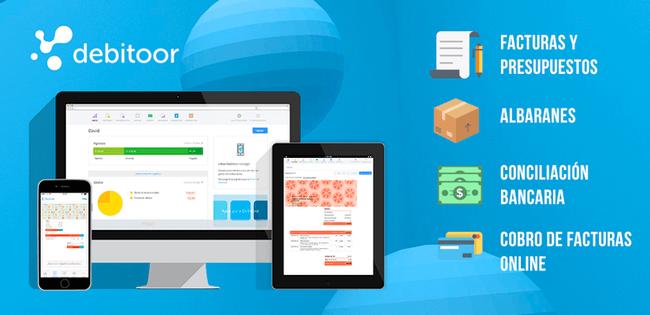 Software de presupuestos Debitoor